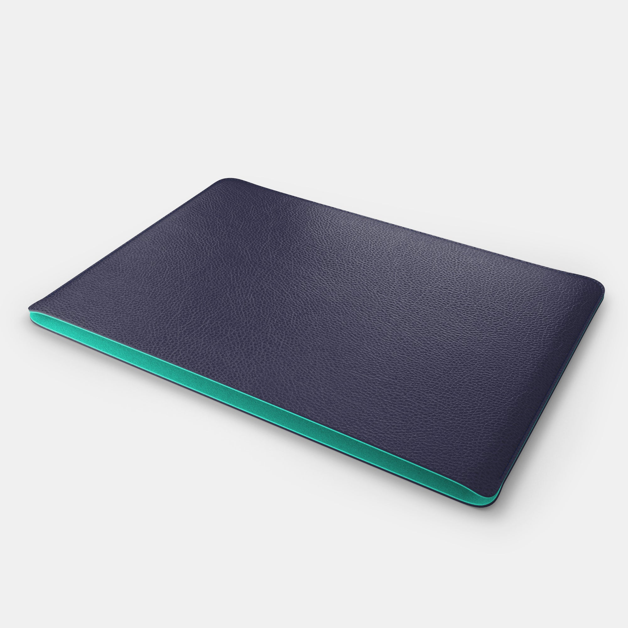 iPad Sleeve - Navy and Mint - RYAN London