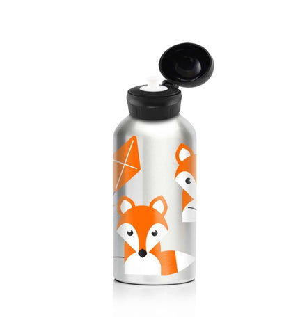 My Family Stainless Steel 400ml Drink Bottle- Fox