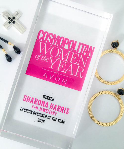 Cosmo, Award, Sharona Harris