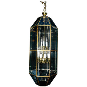Elegant and Beautiful Large Brass Lantern