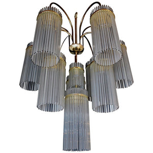 Very Rare and Incredible Beautiful Large Chandelier by Sciolari