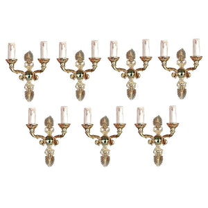 Set of Seven antique French Empire Style Bronze Sconces ( four are sold )