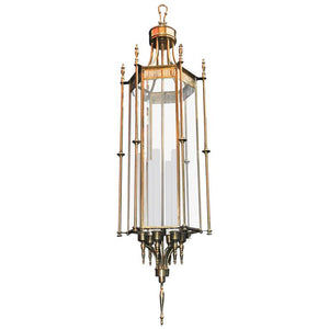 Large Beautiful Brass Lantern