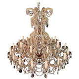 Very Large and Imposing Crystal Chandelier Maria Theresa Style