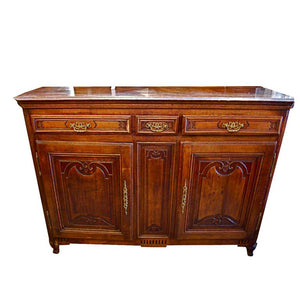Antique French 19th century buffet from alsace