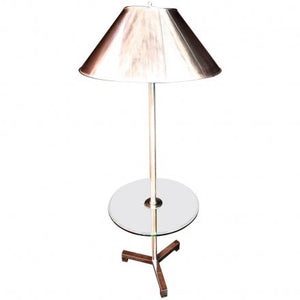 Beautiful Floor Lamp with Metal Shade