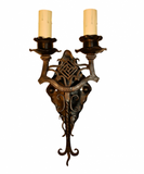 Beautiful Hands Made Wrought Iron Reproduction
