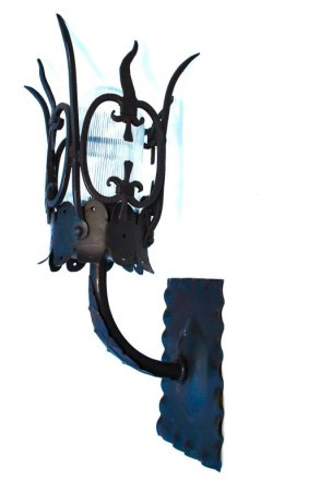 Reproduction Wrought Iron Sconce