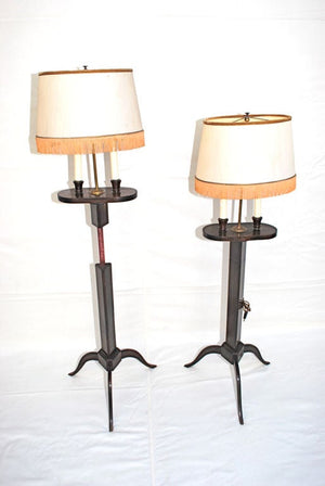 Antique pair of French floor lamp