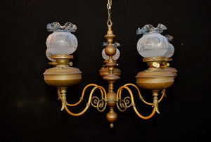 Beautiful Large Late 19th Century French Bronze Chandelier
