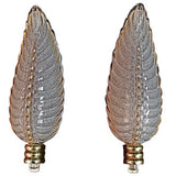 Antique Pair Of French Art Deco Sconces By Ezan