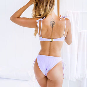 LILAC SIDE TIE BOTTOMS