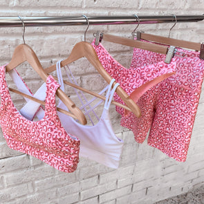 COMING SOON - ROSÉ WILD SPORTS BRA