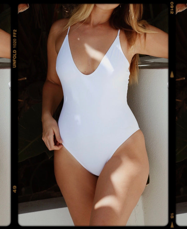 Lanzarote One Piece White