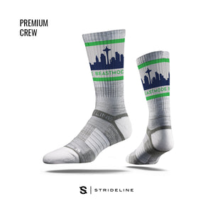 Seattle Skyline Crew Socks