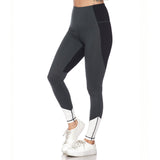 B Logo Slant Colorblock Legging