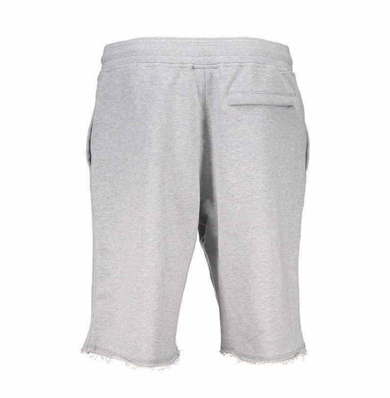 Frayed Cut Off Sweats -  - 5