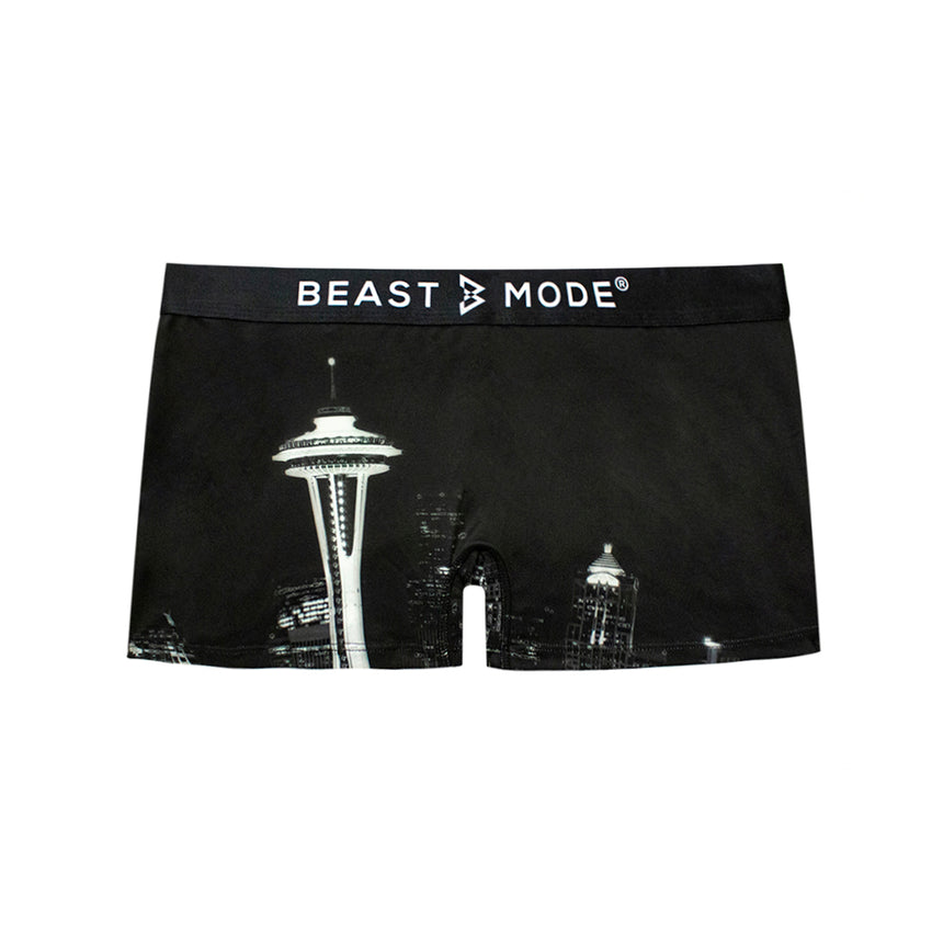Beast Mode Seattle Skyline Boy Short