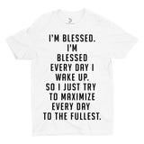 Youth Blessed Big Tee