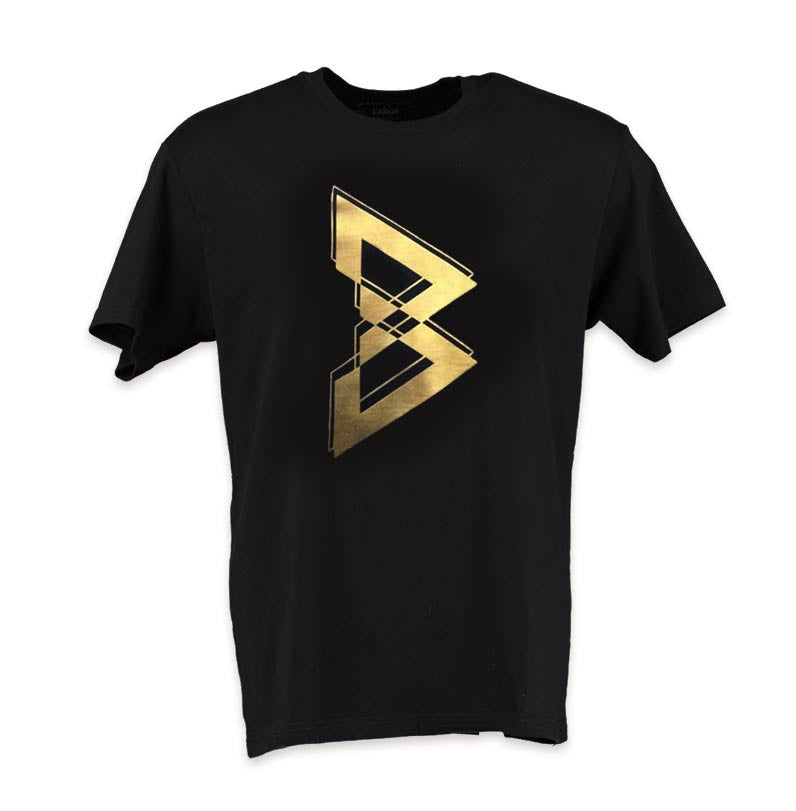 "Metallic ""B"" T-SHIRT -  - 3"