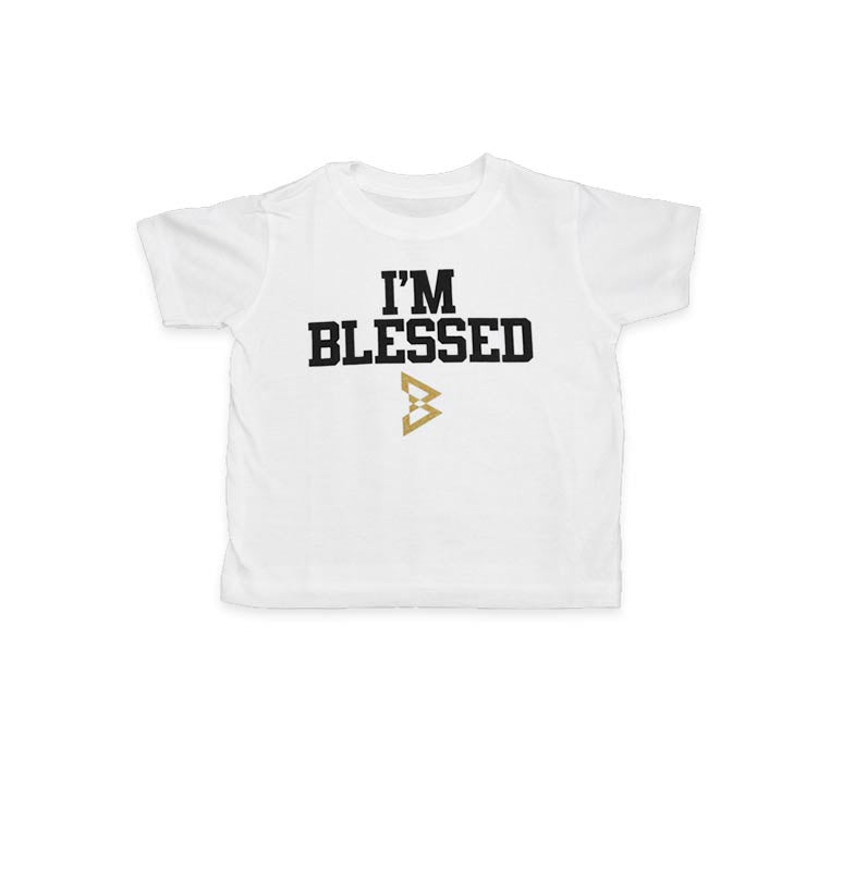 "Toddler ""I'm Blessed"" Tee - Beast Mode® Apparel - 1"