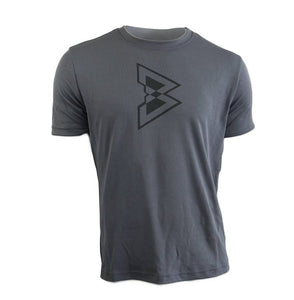 Viewsport Sweat Activated Tee - Steel - Beast Mode® Apparel - 1