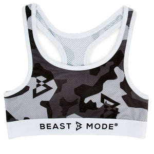 Winter Camo Sports Bra