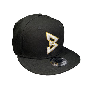 950 Beastmode Black Gold Snapback Hat