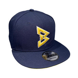 950 Beastmode Navy Yellow Snapback Hat