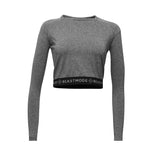 BEASTMODE x Gracie Women's Knockout Long-Sleeve Crop Top