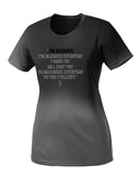 Women's Viewsport Sweat Activated Blessed Tee