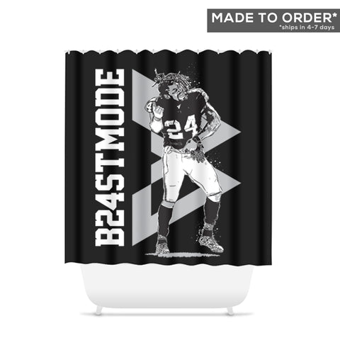 Go Beast Mode Shower Curtain