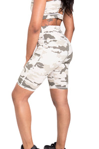 Light Camo Biker Pants