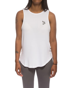 B logo Braid Tank