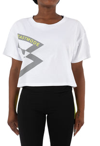 Big B Logo Crop Tee