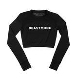 Beastmode Mesh Crop Performance Top