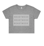 Beastmode Repeat Crop Tee