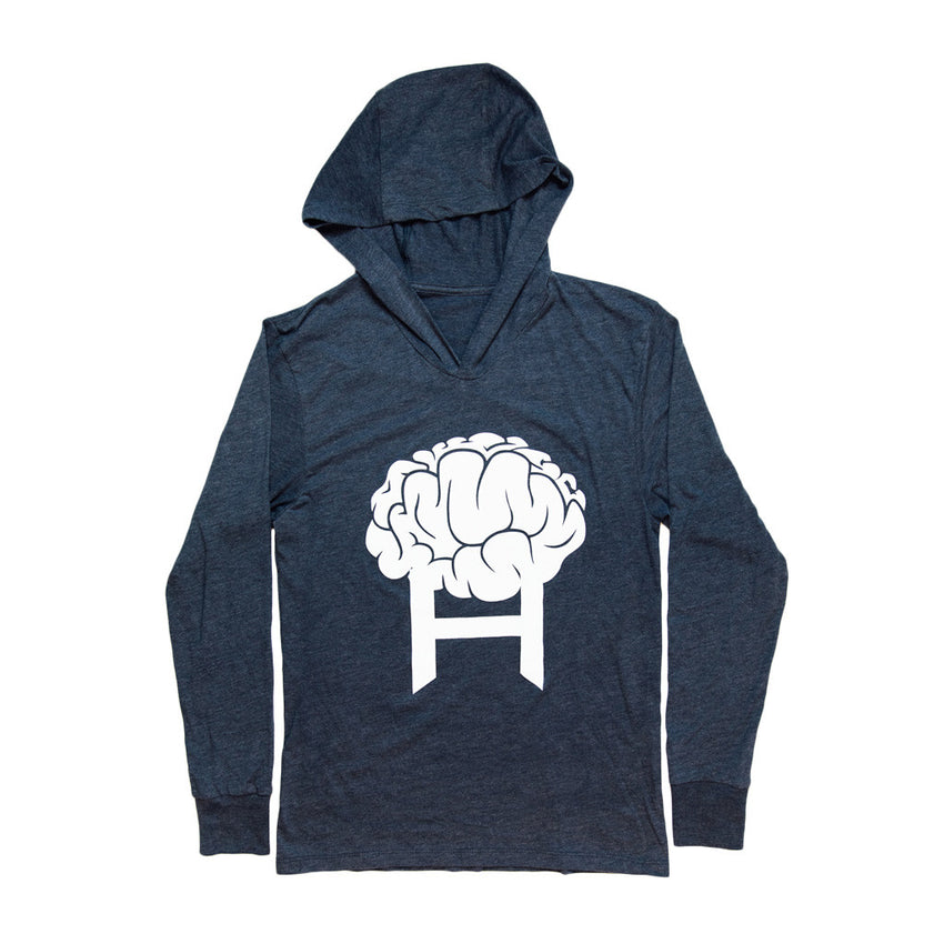 Head8cke Brain Logo Hooded Tee