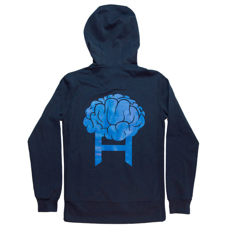 Head8cke Brain Zip Hoody (Navy)