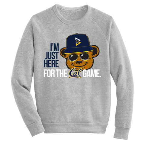 I'm Just Here For the Cal Game Men's Crewneck Sweatshirt