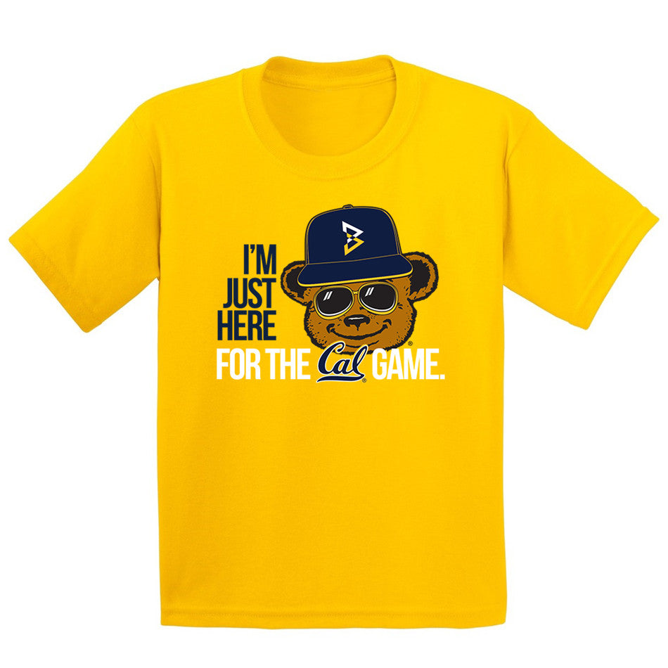 I'm Just Here For the Cal Game Kids T-Shirt