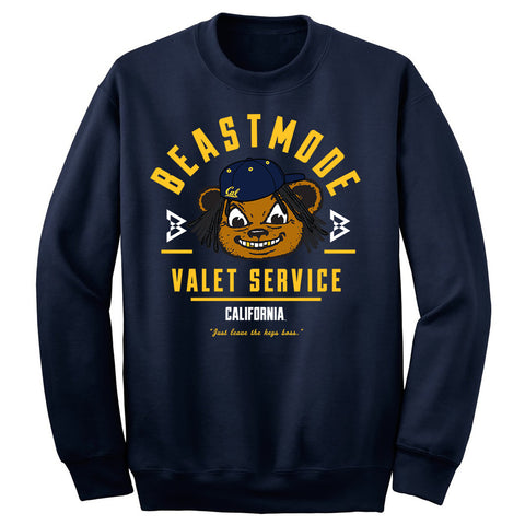 Cal Valet Men's Crewneck Sweatshirt