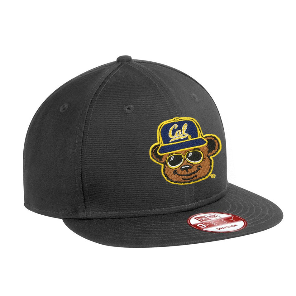 I'm Just Here for the Cal Game Flat Brim Snapback