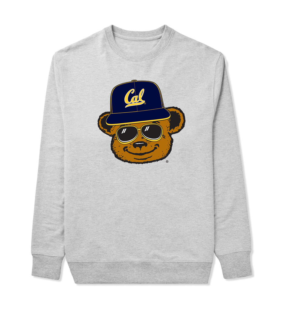 BEASTMODE x CAL BEAR HEAD CREWNECK SWEATSHIRT - Beast Mode® Apparel - 1