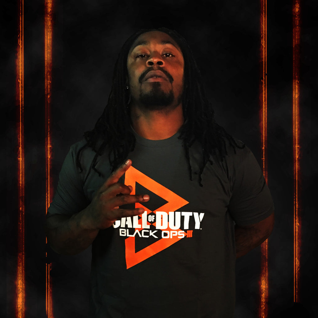 Call of Duty Black Ops 3 Logo Mashup Tee - Beast Mode® Apparel - 2