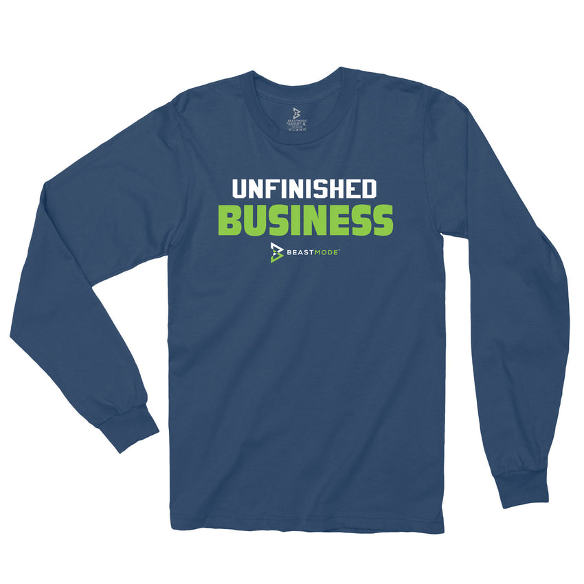 Unfinished Business LS Tee