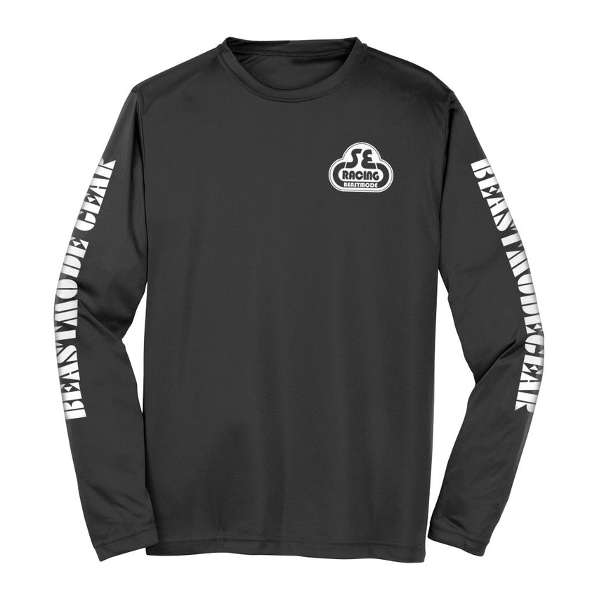 Beast Mode x SE Racing Beast Gear Long Sleeve Tee