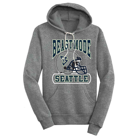 Seattle Helmet Men's Hooded Sweatshirt