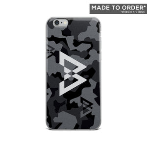 Silver B Logo iPhone Case in Camo