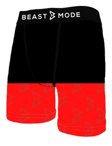 Beast Mode Red Bottoms II Boxer Brief